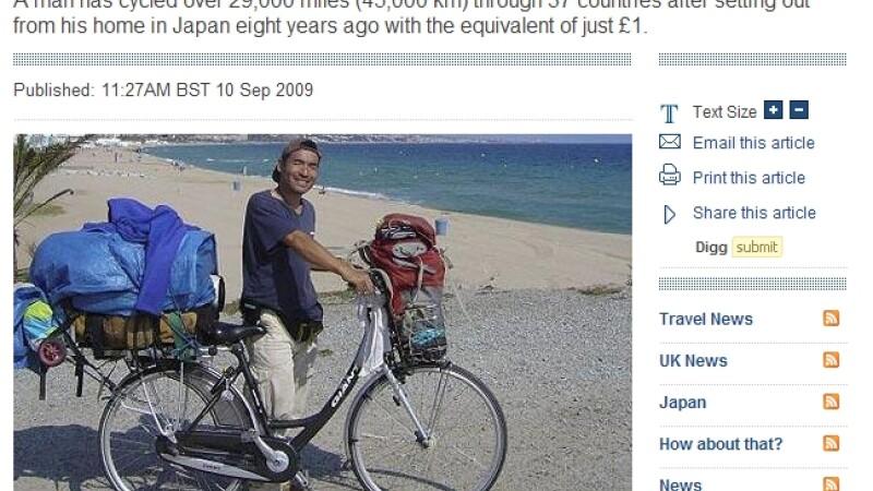 A calatorit in 37 tari, cu doar 1 euro!
