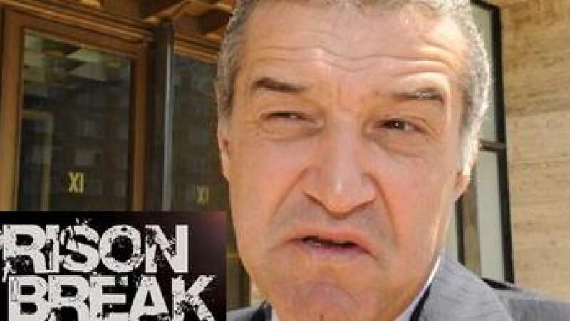 Becali: M-am uitat 5 ore la Prison Break!