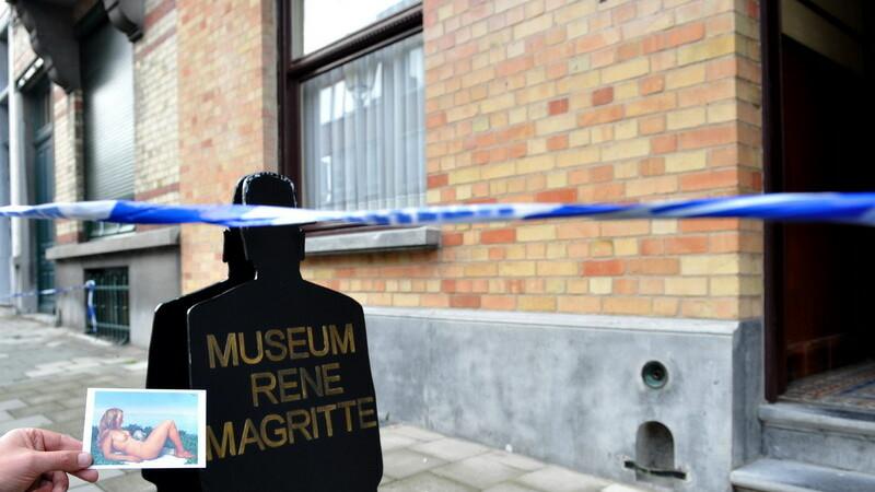 Jaf la Muzeul Magritte