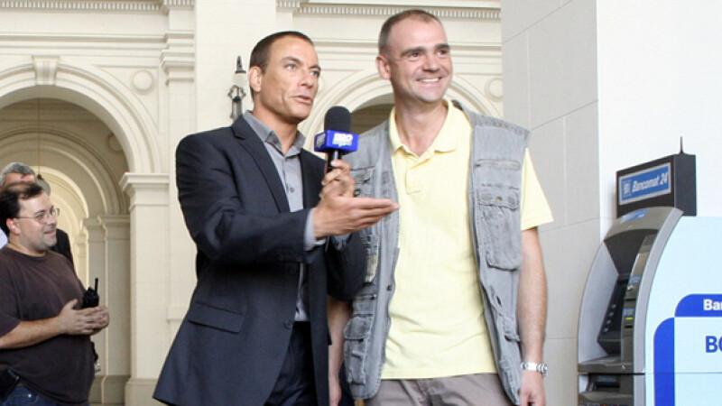 Catalin Radu Tanase si Jean-Claude Van Damme