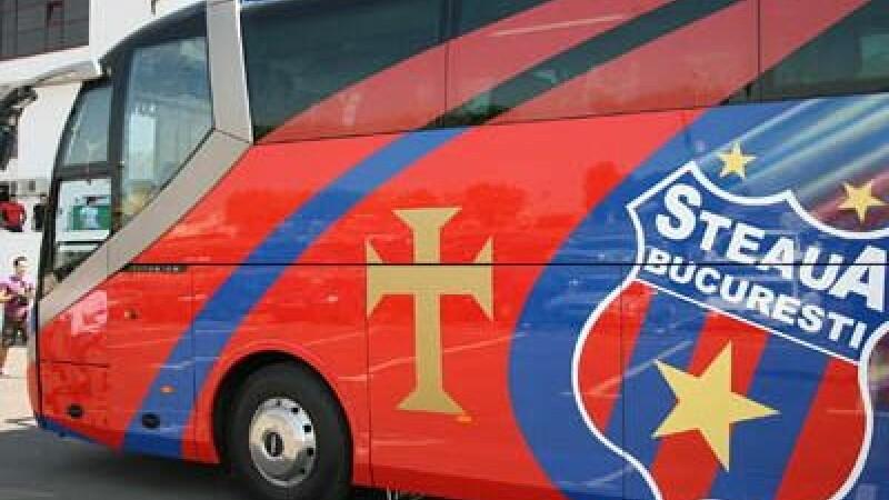 autocar Steaua, atacat