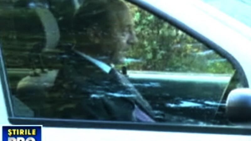 Traian Basescu in Logan