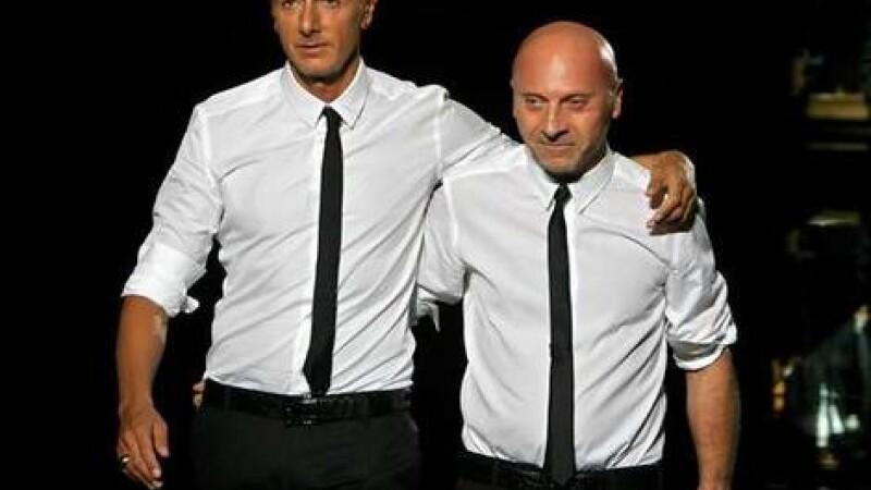 Domenico Dolce si Stefano Gabbana