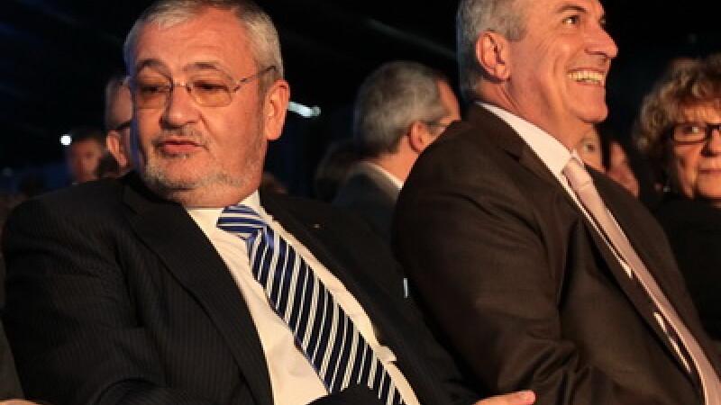 Calin Popescu Tariceanu si Sebastian Vladescu