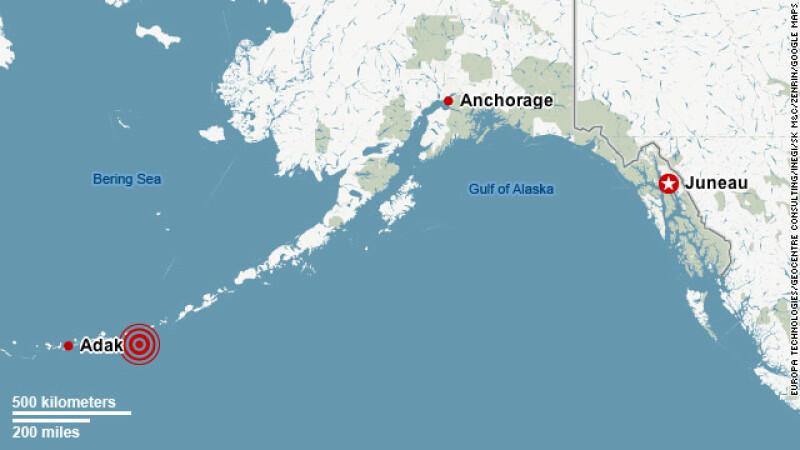 Alaska cutremur