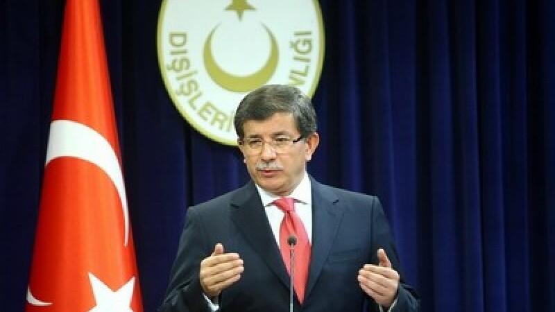 Ministrul turc de externe, Ahmet Davutoglu