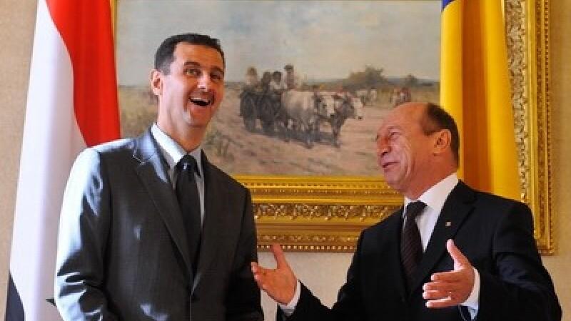 Bashar al-Assad si Traian Basescu