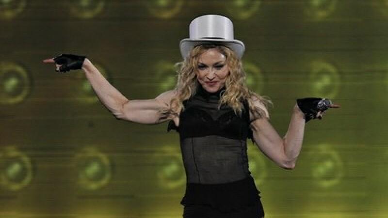 Madonna la Bucuresti