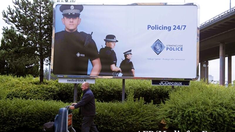 Politia engleza