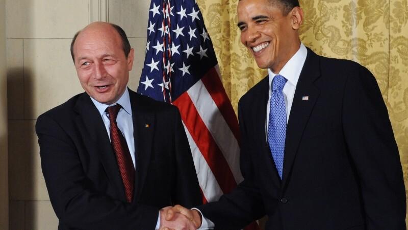Obama si Basescu