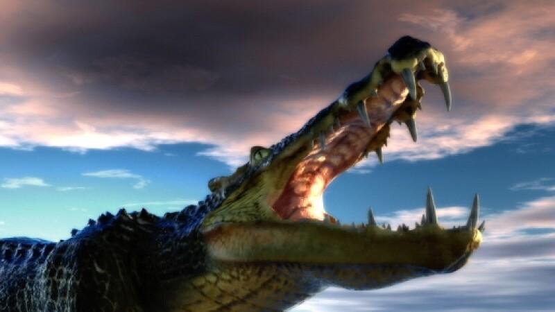 crocodil preistoric