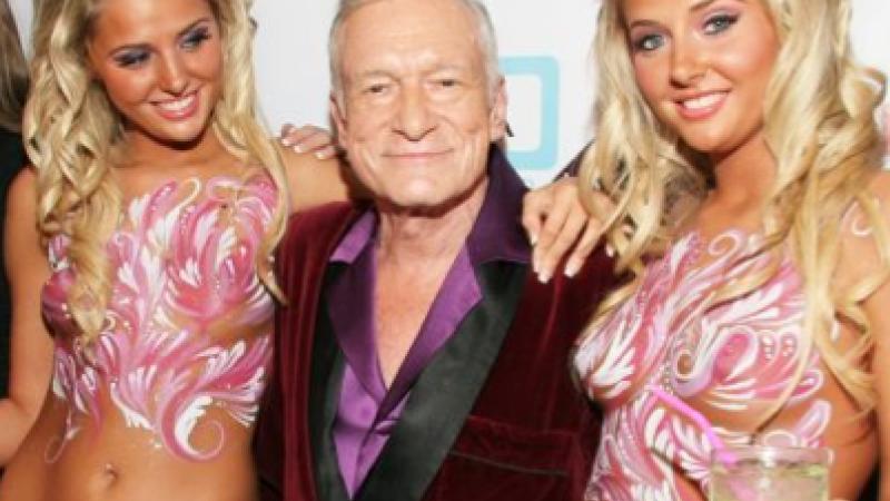 Secretul lui Hugh Hefner pentru o viata longeviva. Crezi ca poti tine pasul cu boss-ul Playboy?