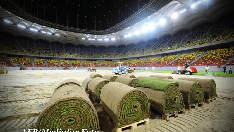 Gazonul de pe National Arena