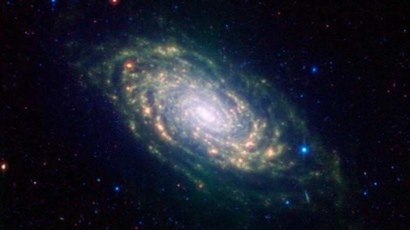 galaxie, cosmos