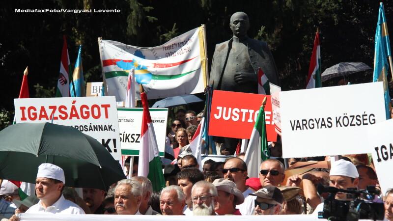 Proteste Székely Mikó