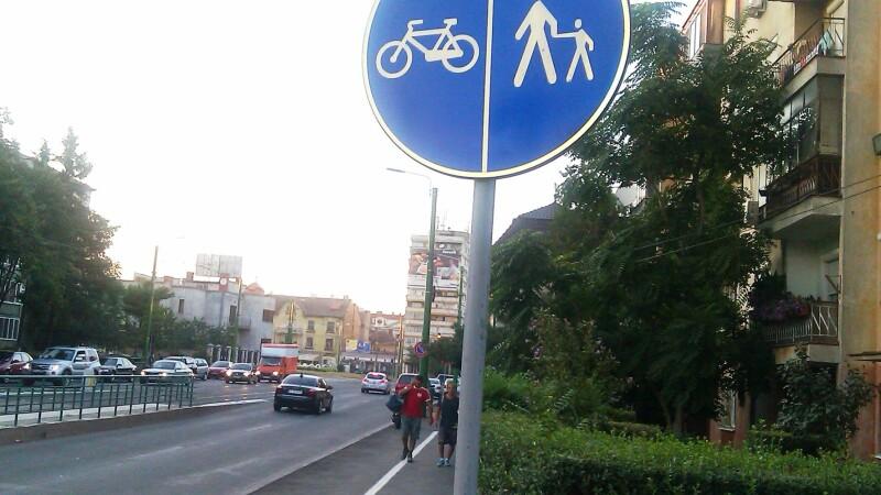 pista pentru biciclisti Arad