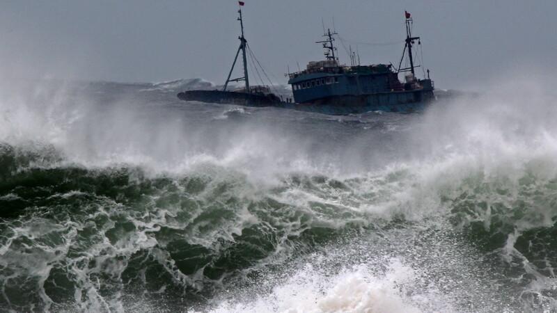 taifun, Asia