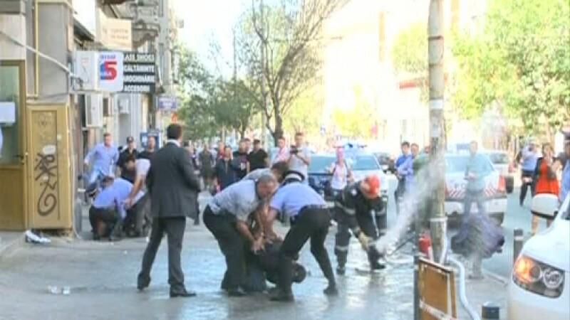 protestatar mort - ROMANIA TV