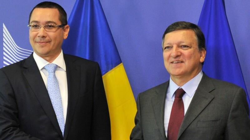 Victor Ponta, Jose Manuel Barroso