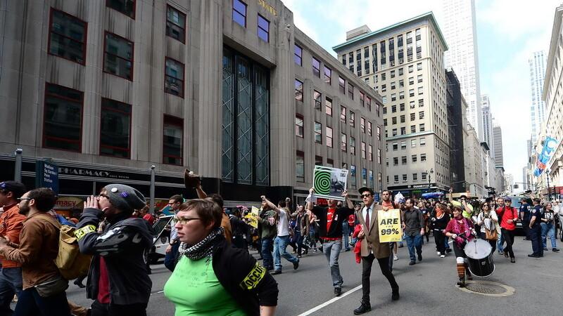 oameni pe strada, Statele Unite