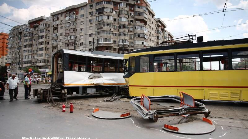 Accident, tramvaie