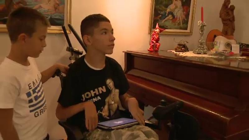 copil cu handicap