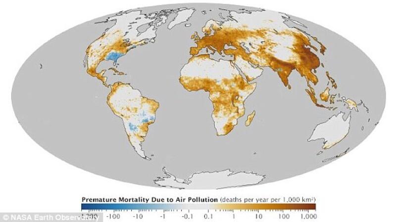Harta poluare