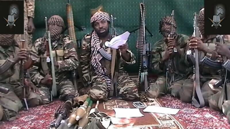 Gruparea terorista islamista Boko Haram Abubakar Shekau