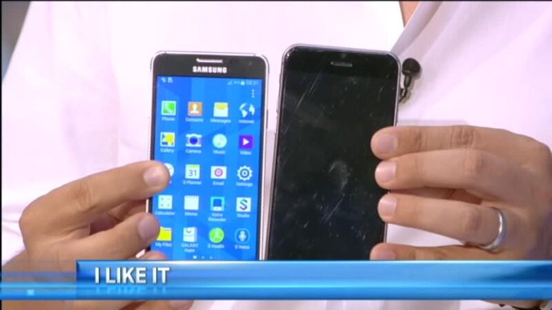 iPhone 6 si Galaxy Alpha