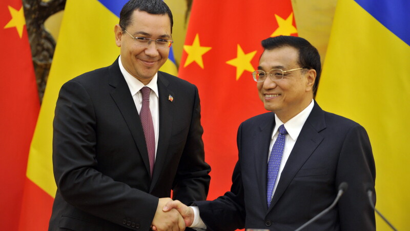 Victor Ponta si premierul chinez Li Keqiang