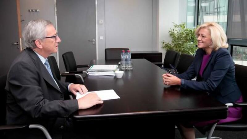 Corina Cretu, Jean Claude Juncker