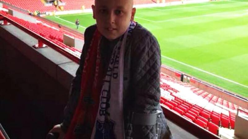 Harrison Ledsham pe stadionul Liverpool