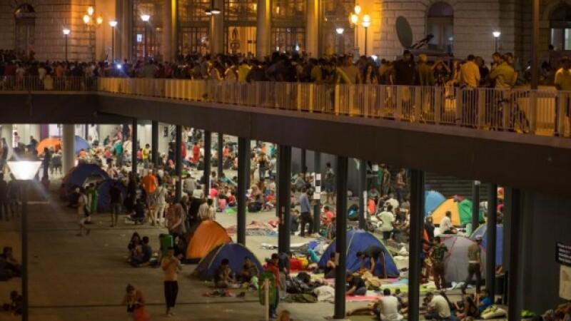 imigranti Budapeste -Agerpres