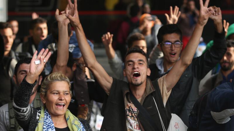 Imigranti ajunsi in Germania - 10