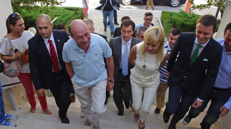 Traian Basescu, Elena Udrea - AGERPRES