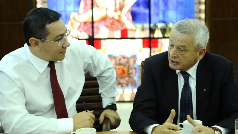 Victor Ponta, Sorin Oprescu - AGERPRES