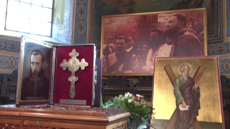 crucea lui Arsenie Boca - stiri