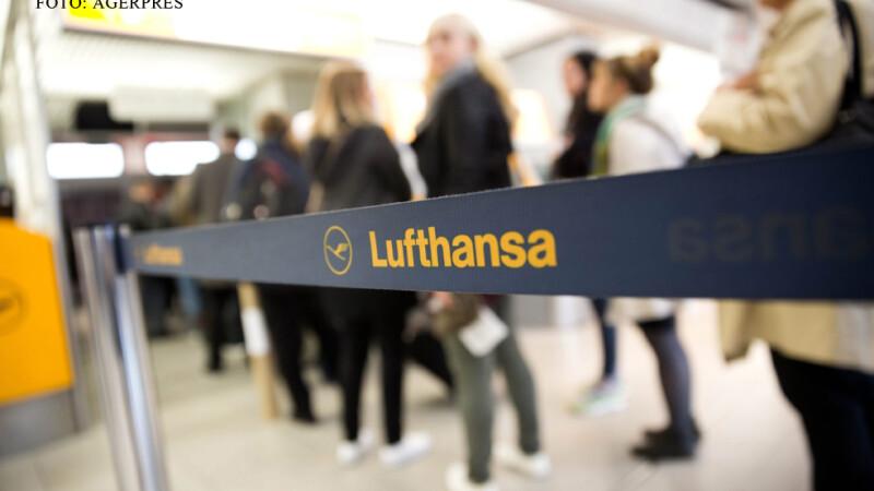 greva la Lufthansa coada pe aeroport la check-in