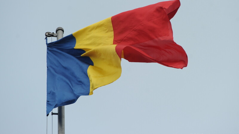 Drapelul Romaniei - AGERPRES