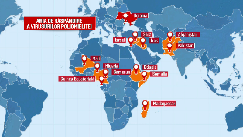 harta poliomelita