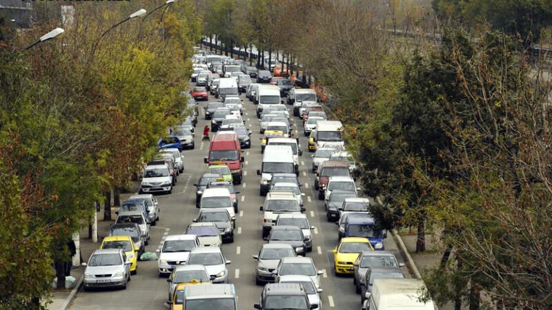 aglomeratie in trafic Bucurest