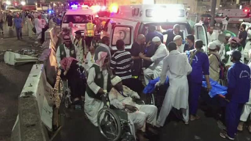 Tragedie Moschee Mecca