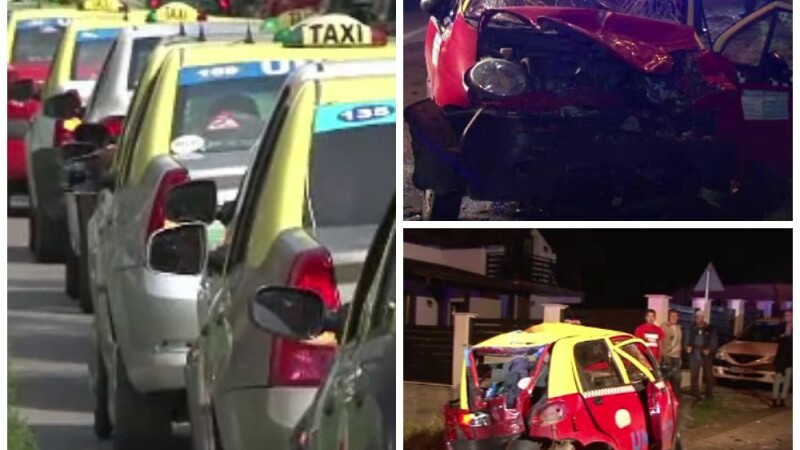 protest taximetristi Bistrita