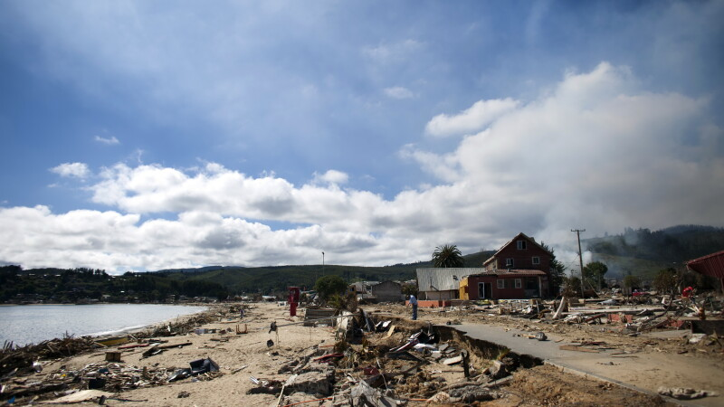 Cutremur in Chile - GETTY