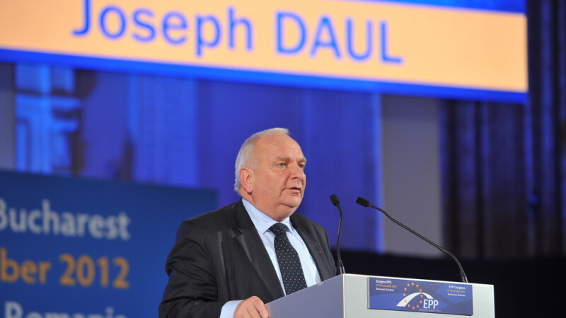 Joseph Daul, presedinte PPE - Agerpres