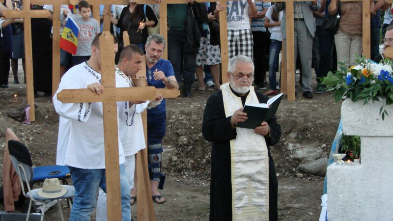 protest moschee Bucuresti