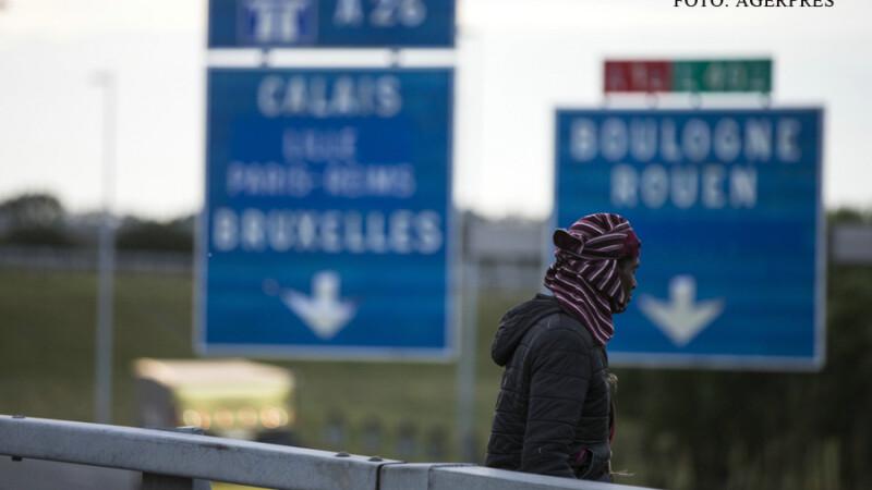refugiat la Calais