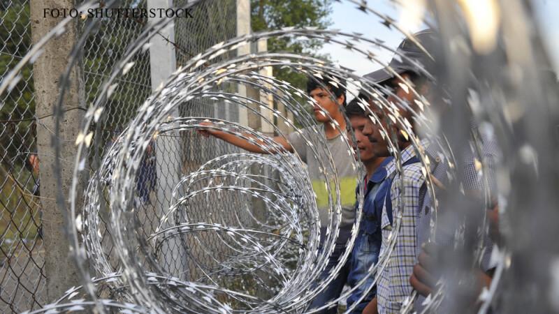 refugiati langa gardul maghiar