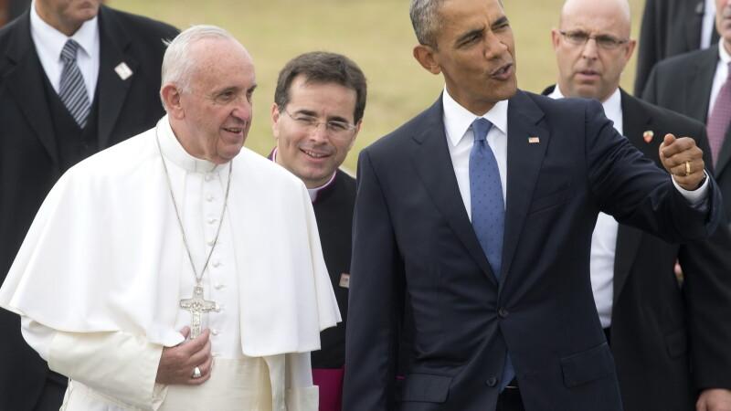 Papa Francisc, Barack Obama - AGERPRES
