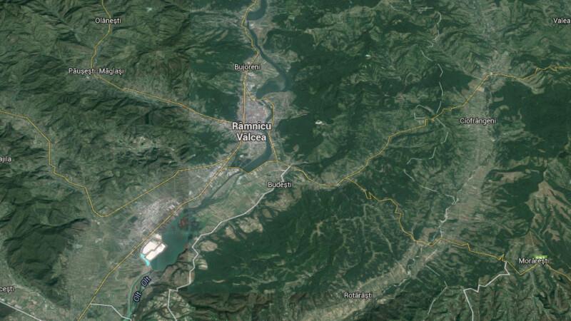 harta Ramnicu Valcea Google Earth